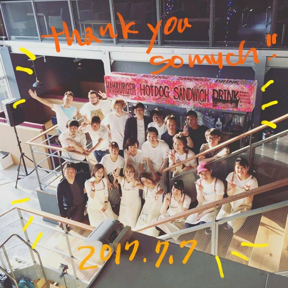 cafe SOURCE 15周年イベント Casuals!@ TCCマミー店